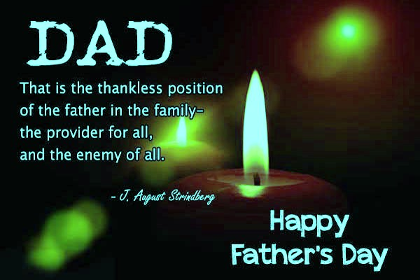 Fathers Day Greetings to Husband