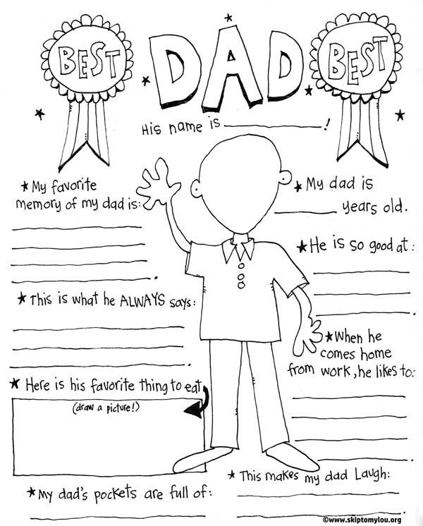 Fathers Day Pictures to Print