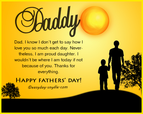 Happy Fathers Day Quote