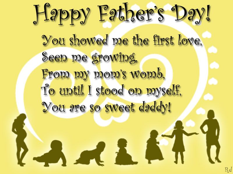 Happy Fathers Day Msg For Dad
