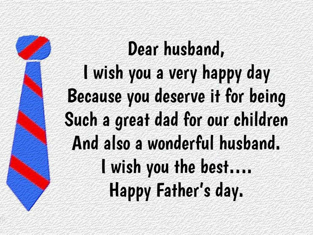 Fathers Day Quotes From Wife To Husband