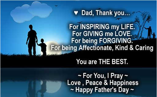 Special Fathers day quotes from son