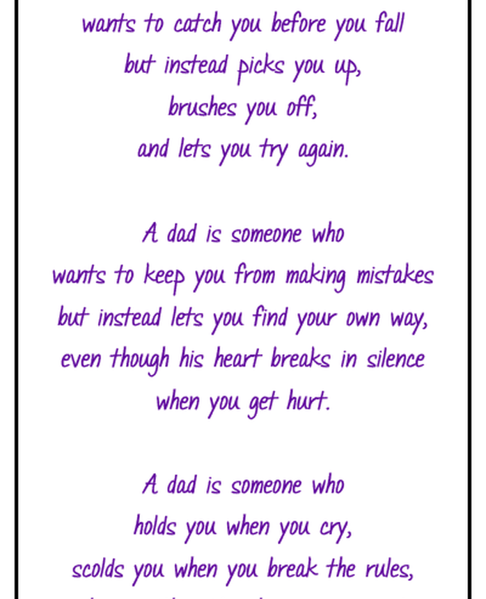 fathers day poems for husband