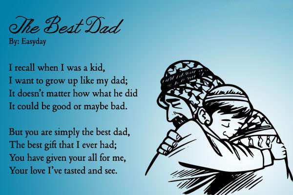 fathers day poems from son