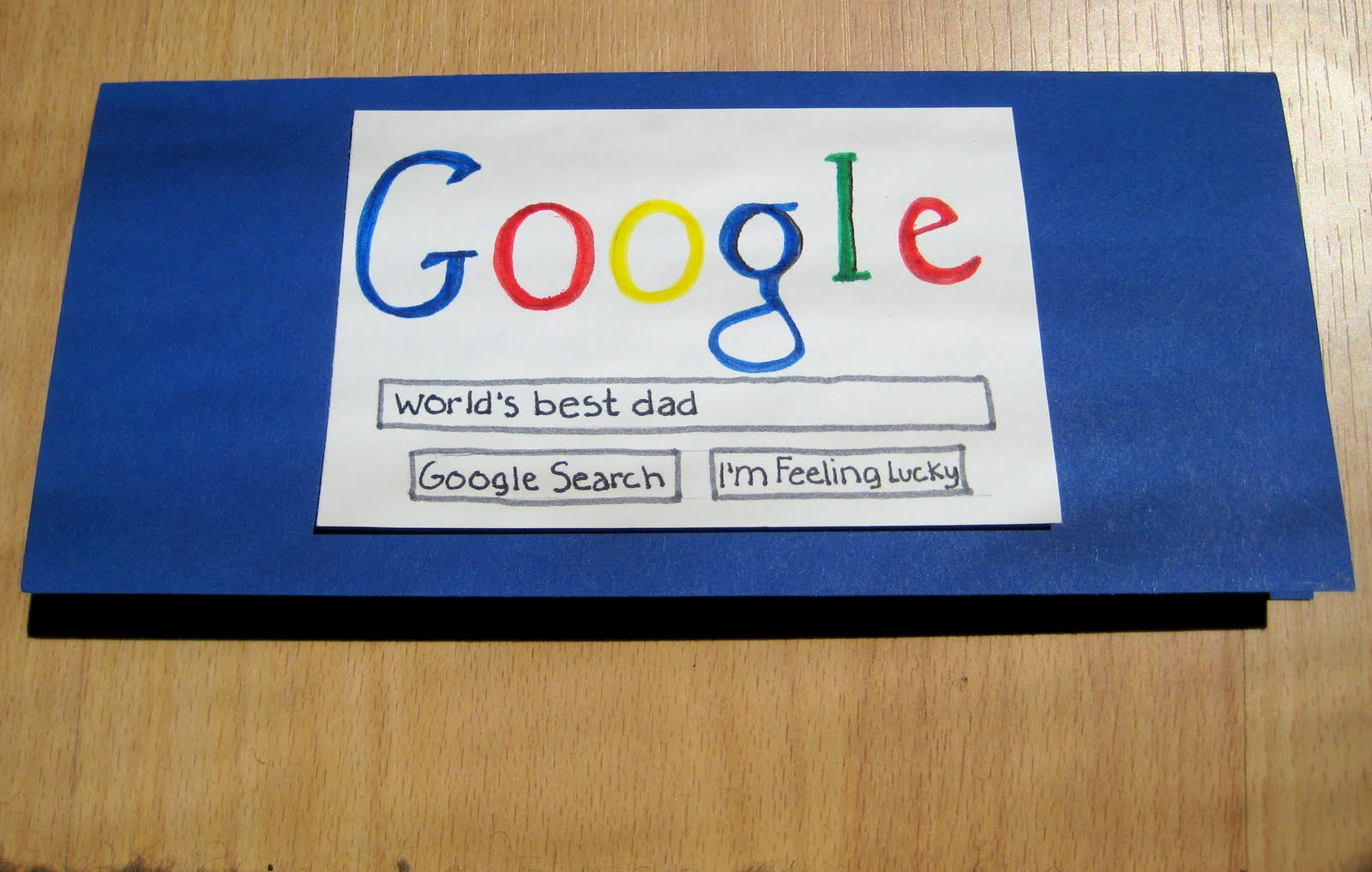 homemade easy fathers day cards