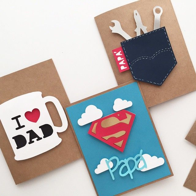 homemade handmade fathers day cards