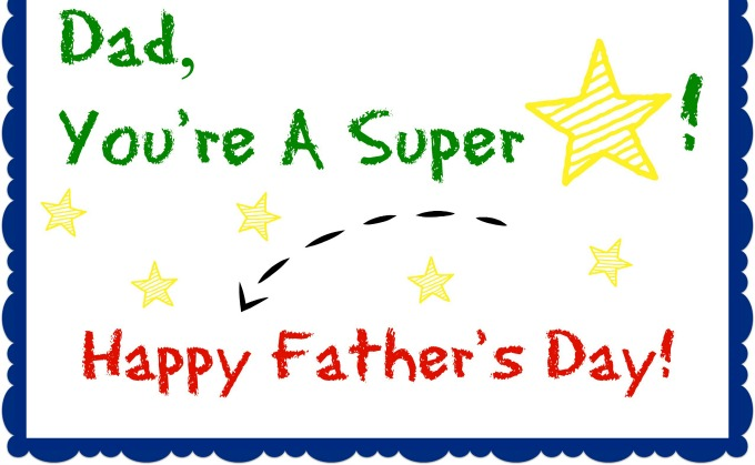 printable happy fathers day cards