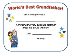 Fathers Day Coloring Pages Certificate For Kids