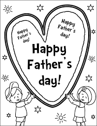 Fathers Day Coloring Pages For Preschoolers