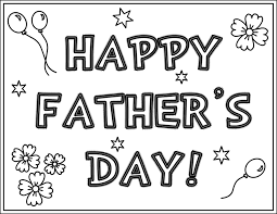 Fathers Day Coloring Pages For Students