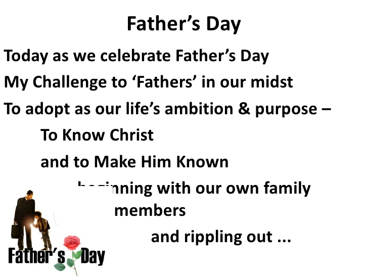 Father's Day Sermons Ideas