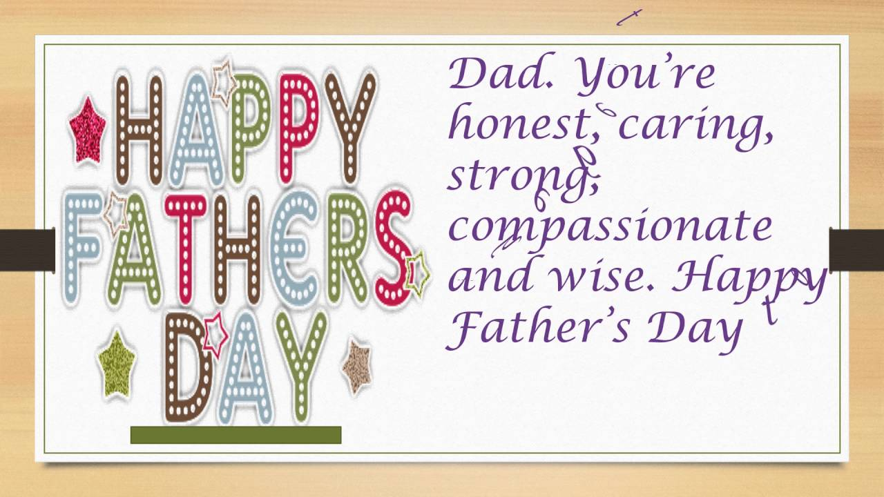 Father's day Greeting Card Msg
